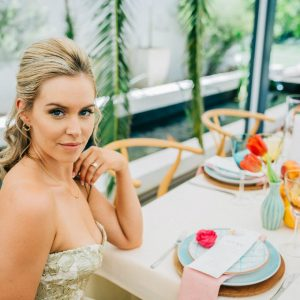 Tropical Inspired Bridal Shoot By Shot By Angel Photography