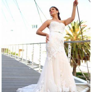 LA Bride Chevonne By Larry English Photography