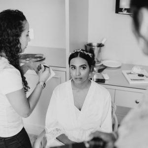 LA Bride Simesha by Hewitt Photographer